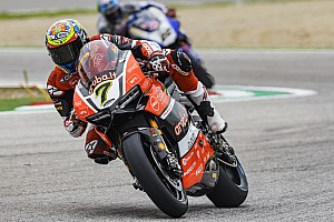 World Superbike Race report Imola WSBK: Davies scores lights-to-flag win as Rea slips up