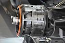 McLaren: nuovi i cestelli dei freni anteriori