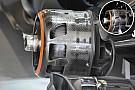 Breve análisis técnico: cambios en los tambores de freno del McLaren MP4-31