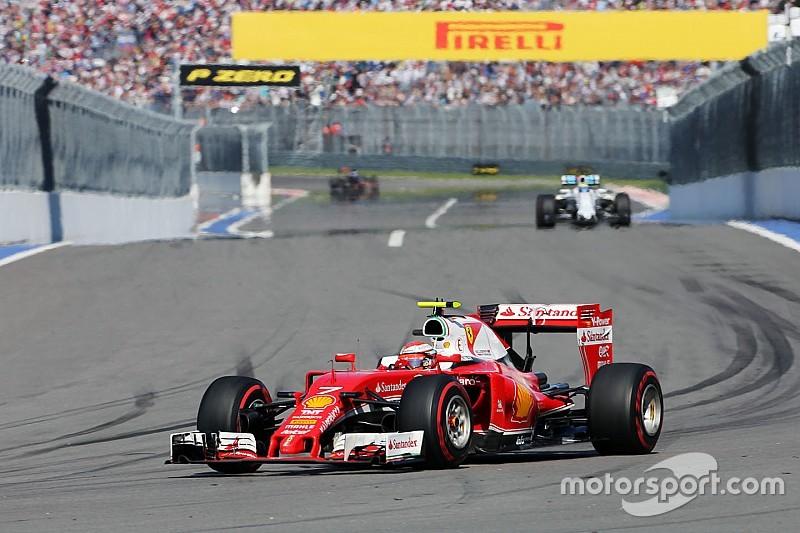 Räikkönen, insatisfecho con el tercer lugar