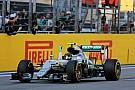 Mercedes schrijft open brief, ontkent voortrekken Rosberg