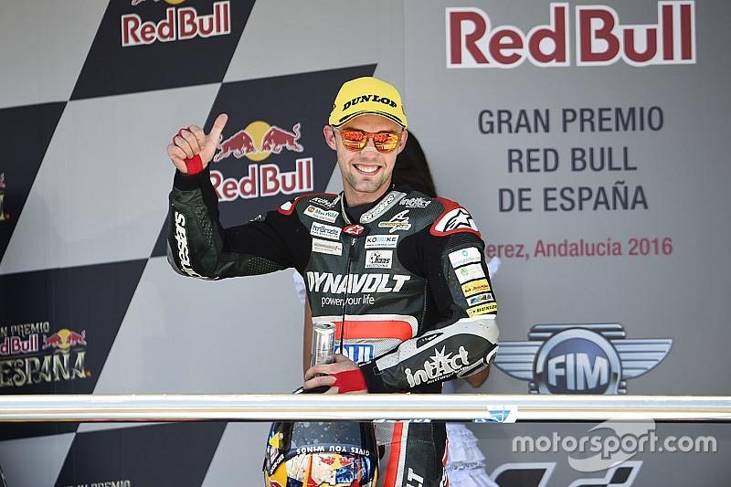Mit Tech-3-Yamaha: Jonas Folger steigt 2017 in die MotoGP auf