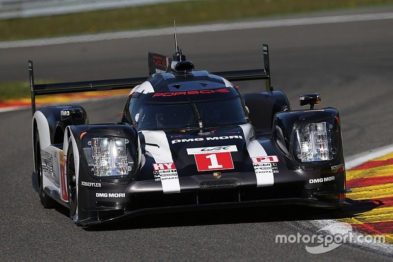 WEC in Spa: 2:1 für Porsche in den freien Trainings