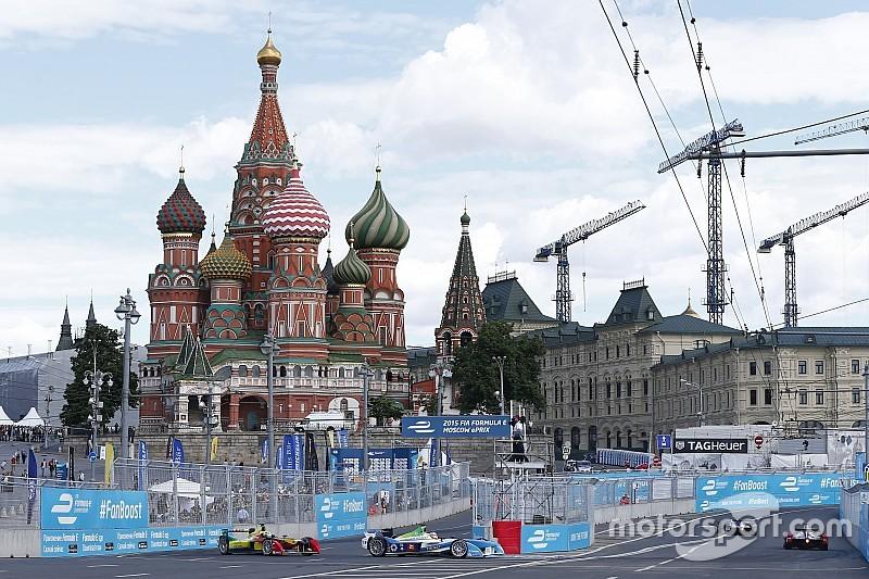 モスクワePrix正式に中止。代替開催は行わず
