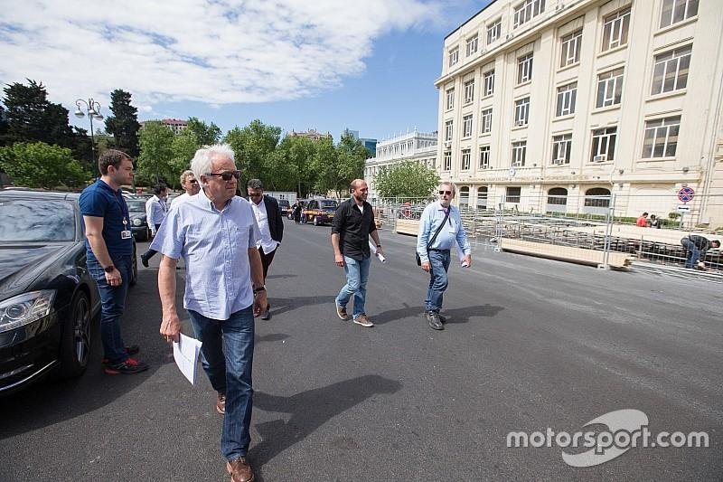 FIA: Formel-1-Strecke in Baku wird rechtzeitig fertig