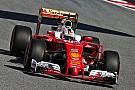 Formel 1 in Barcelona: Ferrari-Pilot Sebastian Vettel mit erster Bestzeit
