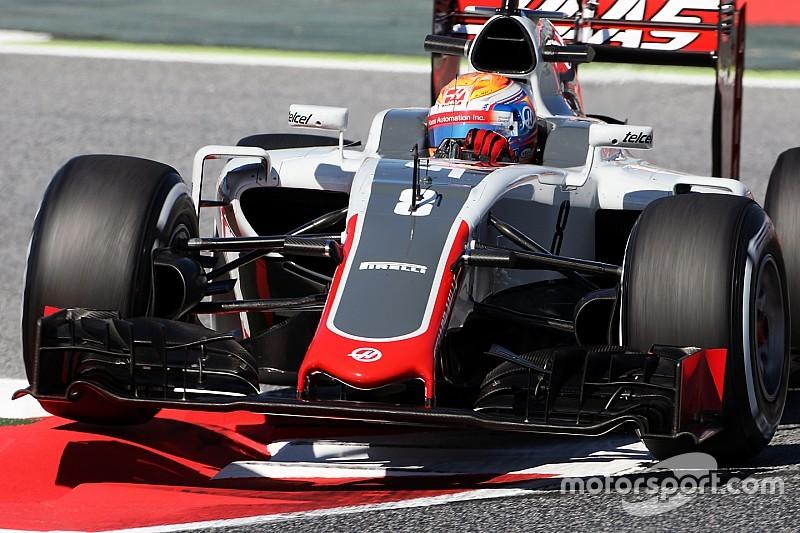 Grosjean, insatisfecho con la configuración en Barcelona