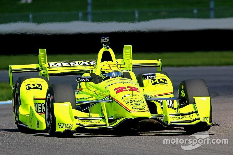 IndyCar GP Indianapolis: Derde winst op rij voor Pagenaud