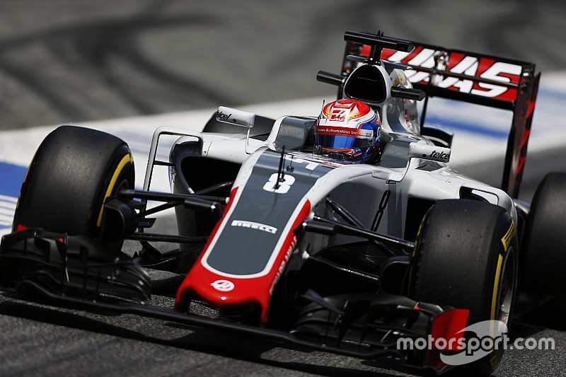 La Haas ha sostituito il telaio di Romain Grosjean