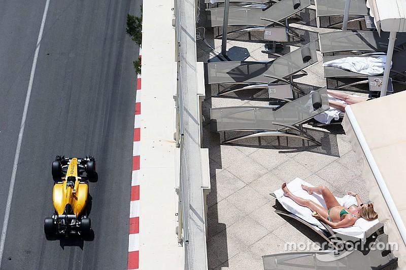 Der Trainingsauftakt der Formel 1 in Monaco in Bildern