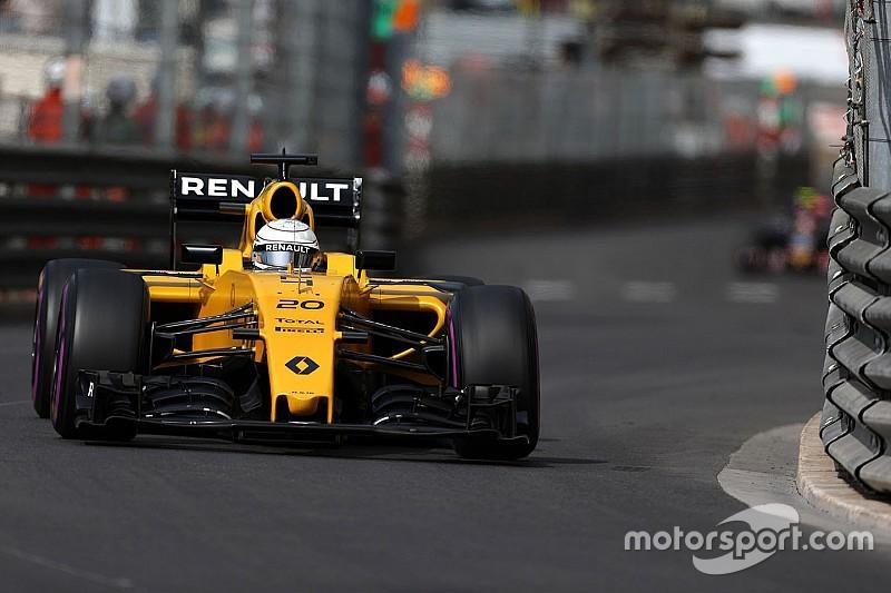 """Magnussen asegura que Renault """"empeoró"""" su auto en Mónaco"""