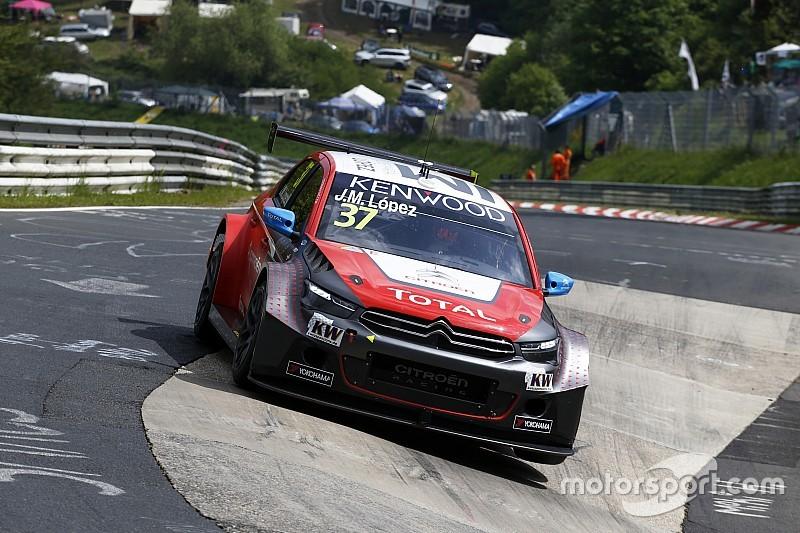 López cerró el jueves al frente Nurburgring