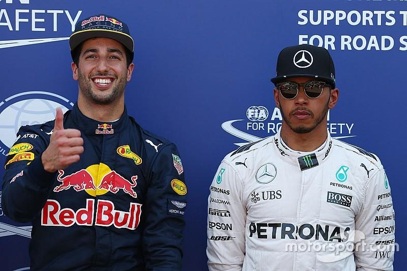 """Mercedes admite la """"derrota"""" frente a Daniel Ricciardo"""