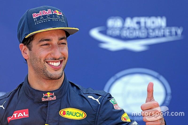 """Ricciardo: """"Lo he conseguido por las grandes bolas australianas que tengo"""""""