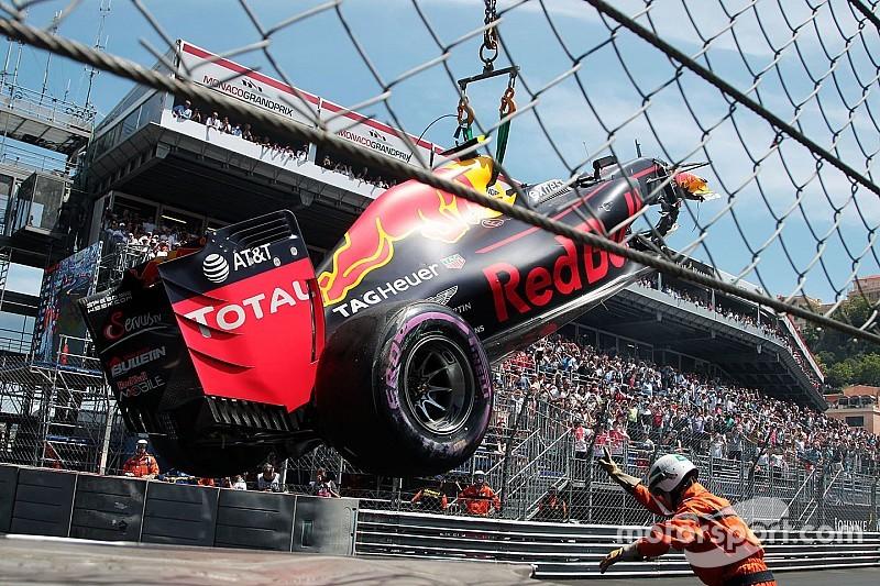La Red Bull sostituisce il telaio di Verstappen: partirà dalla pitlane