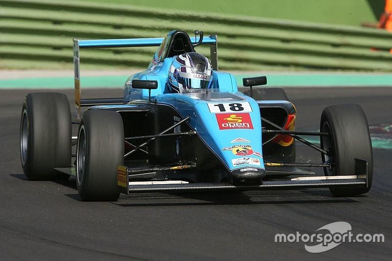 Victoria de Siebert en la F4 Italiana