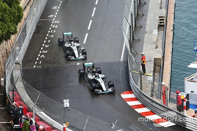 """Hamilton a Rosberg: """"gracias por ser un caballero"""""""