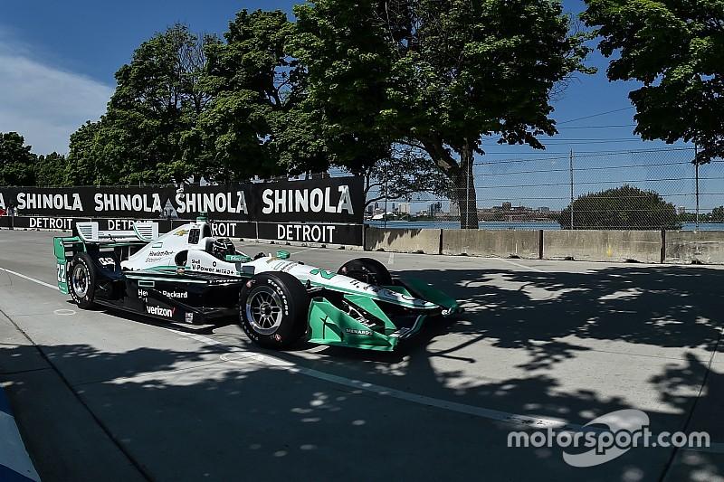 IndyCar Detroit: Simon Pagenaud holt Pole-Position für Samstagsrennen