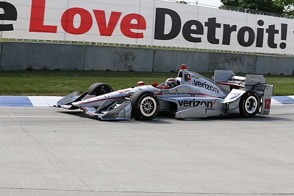IndyCar Detroit IndyCar : Kazanan Power, Penske 1-2