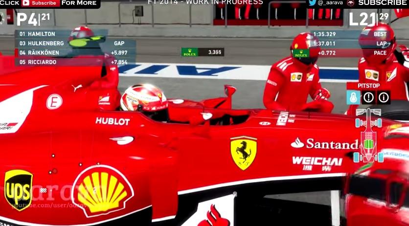 F1 2014: A virtuális világban Raikkönen simán veri Alonsót