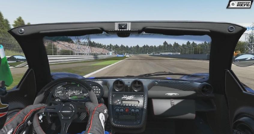 Project CARS: Pagani Zonda Cinque Roadster! Ezzel aztán lehet vágtatni