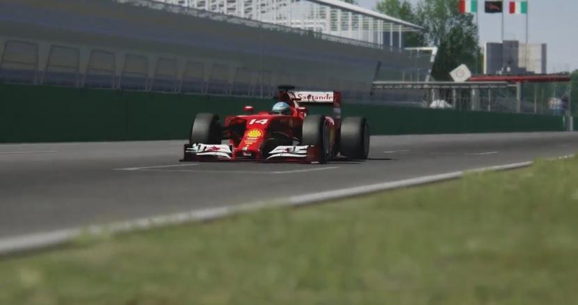 F1 2014 Assetto Corsa: Videón Alonso és Raikkönen Ferrarijának virtuális mása