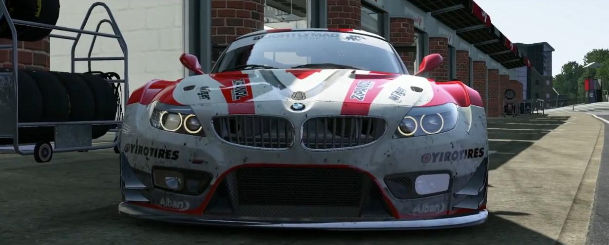 Project CARS: Új videó a játékról – BMW Z4 GT3, Brands Hatch