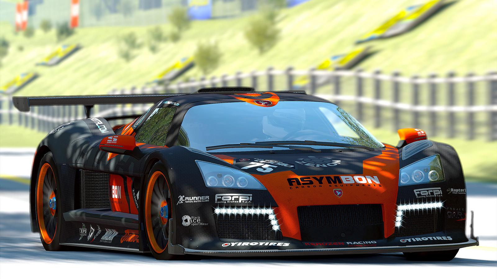 Project CARS: Gumpert Apollo Sport a virtuális Imolában