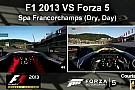F1 2013 Vs. Forza Motorsport 5: F1-es autók egymás ellen