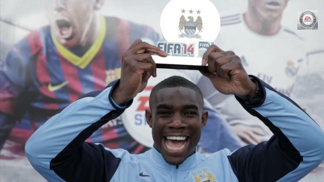 FIFA 14: Egymás ellen a City játékosai