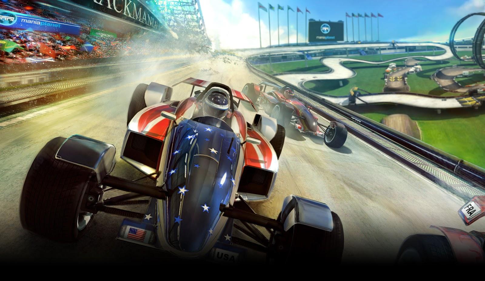 TrackMania 2 Stadium Open Beta Trailer