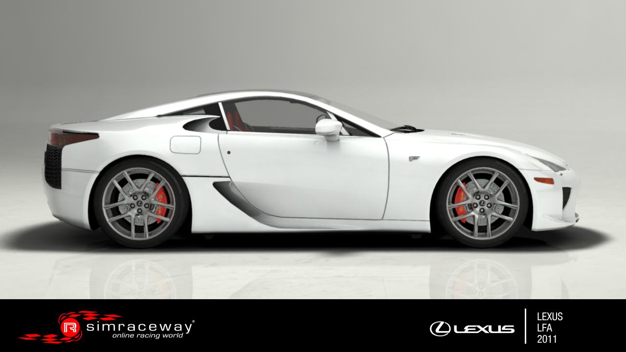 Simraceway: Akcióban a Lexus LFA Silverstone-ban