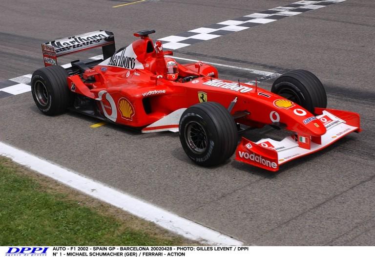 Könnyfakasztó: Schumacher 2002-es pole köre a Ferrarival Barcelonában