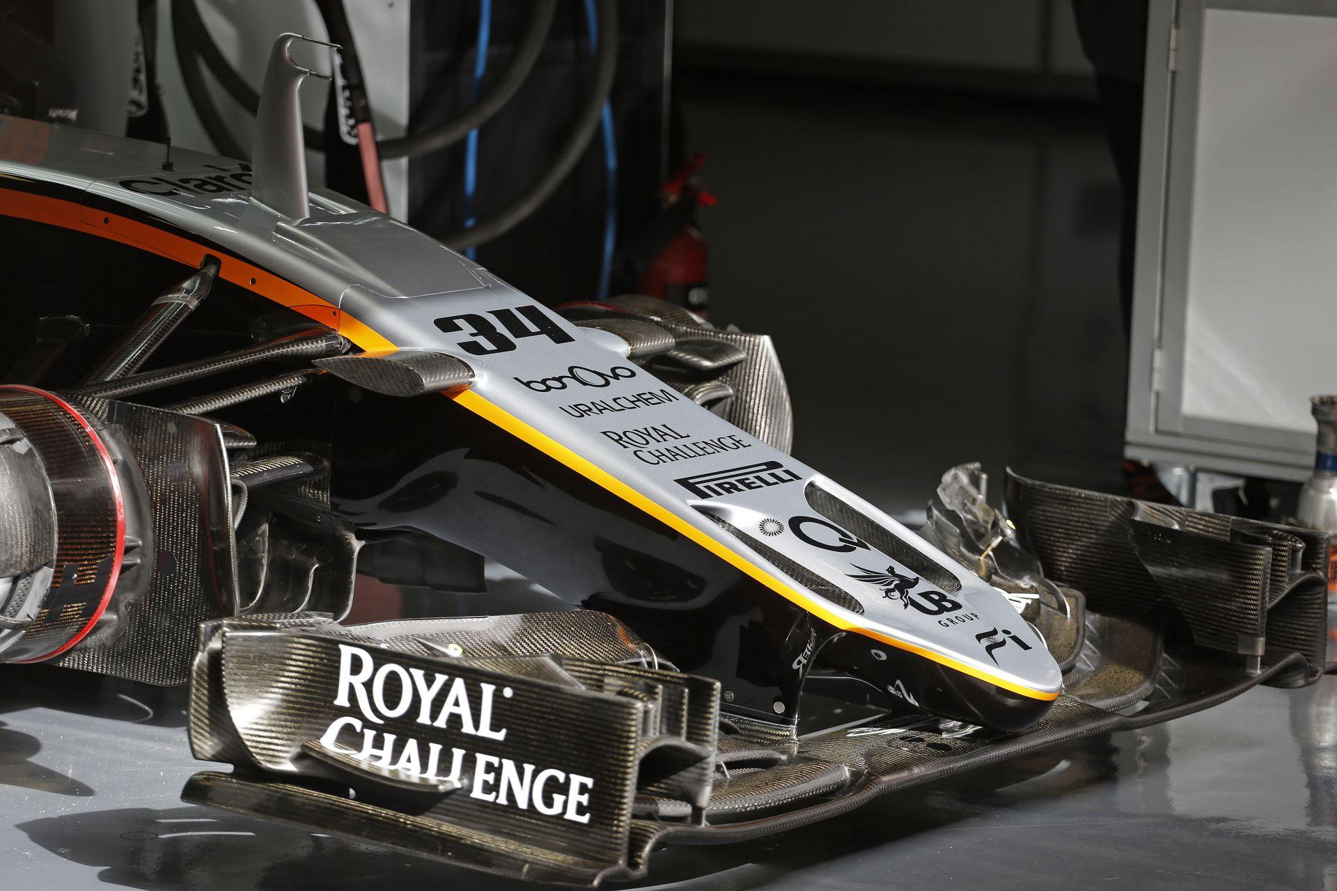 A Force India 9.8 millió dolláros veszteséggel zárta a 2015-ös szezont!