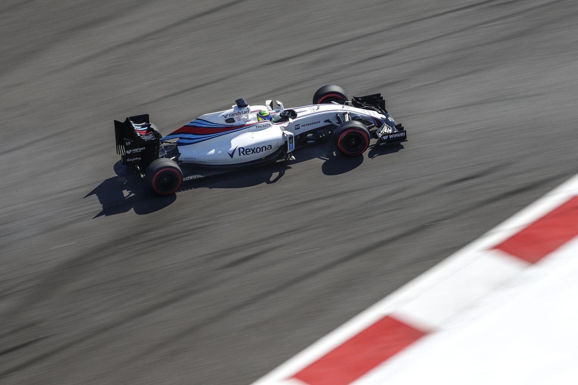 A Williams egyelőre csak a fejlesztéseiben rejlő potenciál 50%-át tudta előcsalogatni!