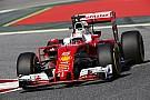 Vettel nyerte az első szabadedzést a Ferrarival Raikkönen előtt Barcelonában