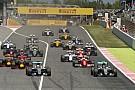 Amatőr videón a barcelonai F1-es start: Hamilton nem is ragadt be