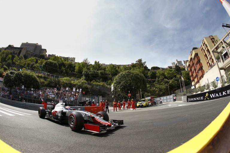 Gutierrez Grosjean előtt - a Haas a Mercedest hibáztatja Monacóban!