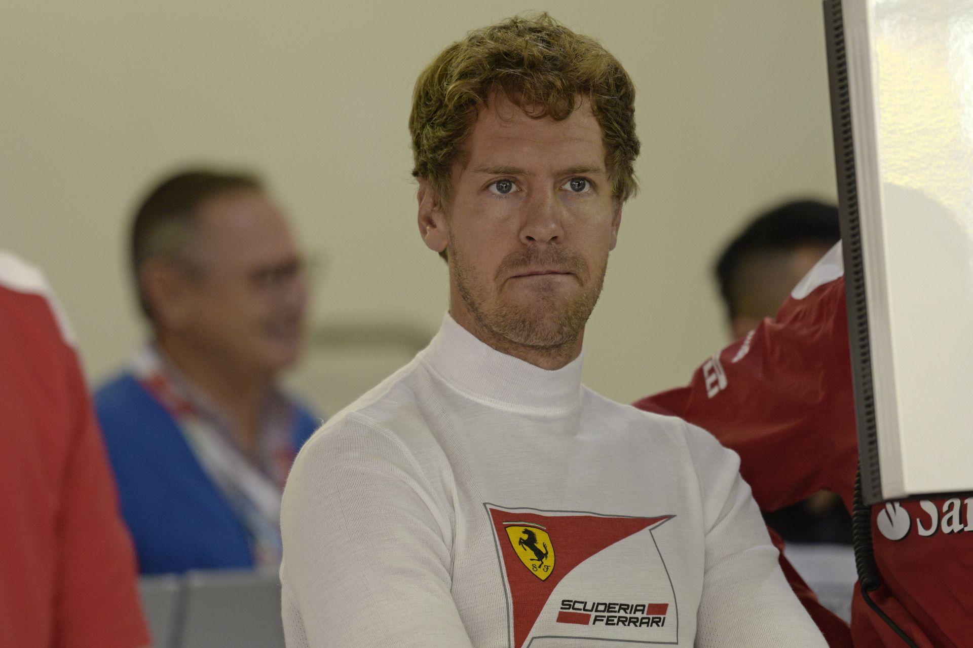 """Vettel: """"A Ferrari még mindig nincs elég közel a Mercedeshez"""""""