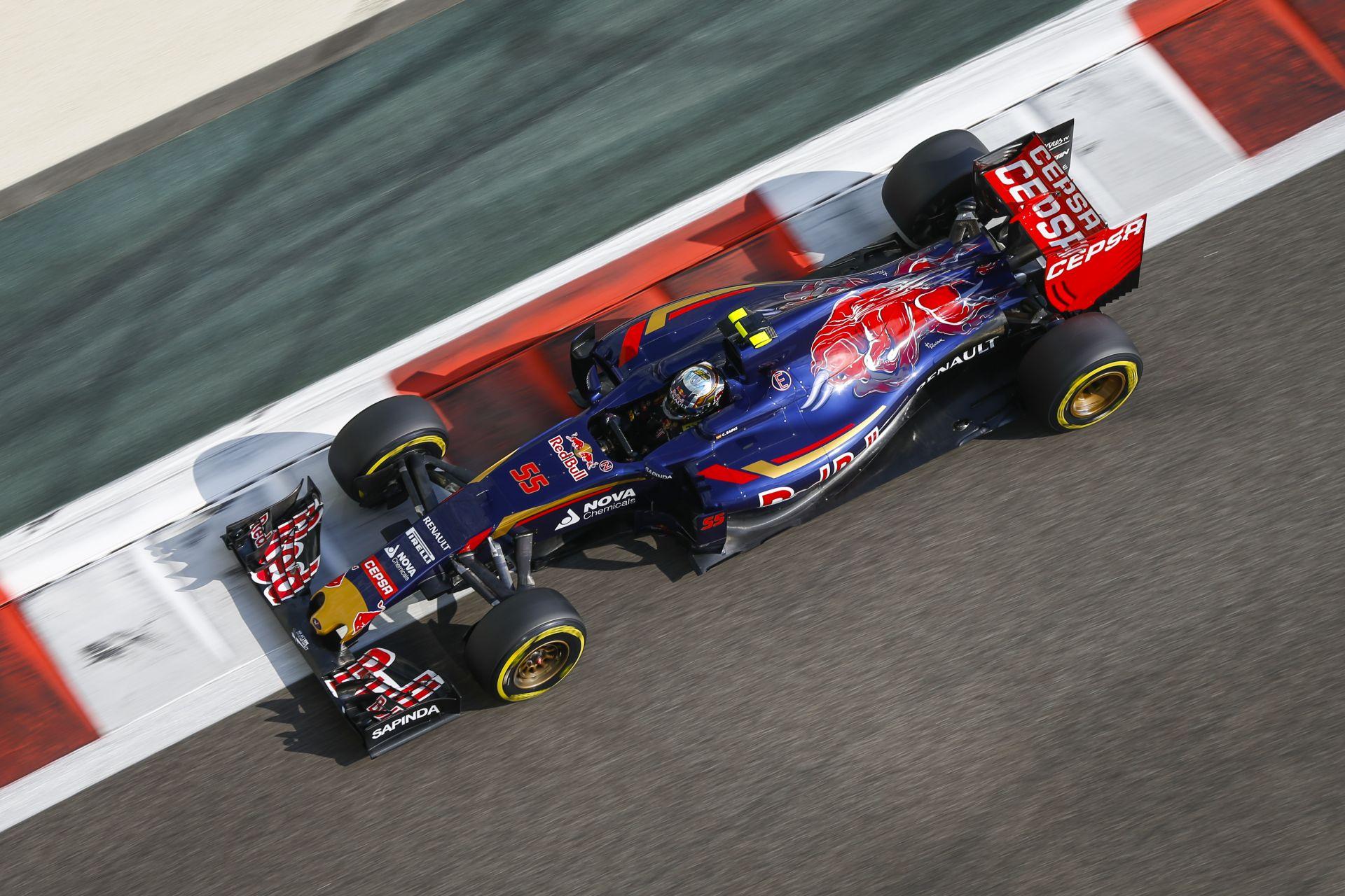 Bemutatkozott a Toro Rosso idei F1-es festése és az új autó