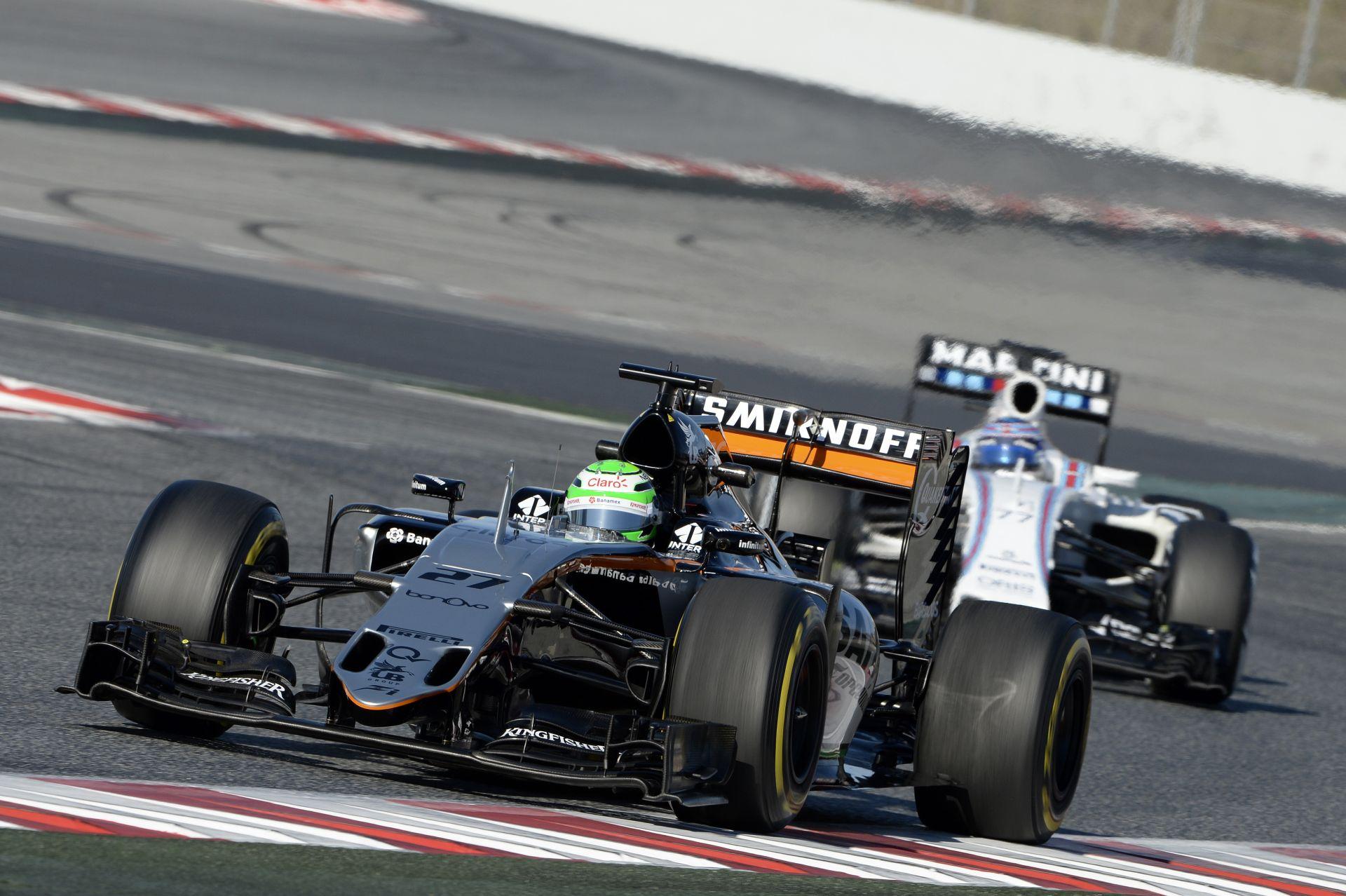 """Hülkenberg: """"Jó a Force India, de nem reális ez a harmadik hely"""""""