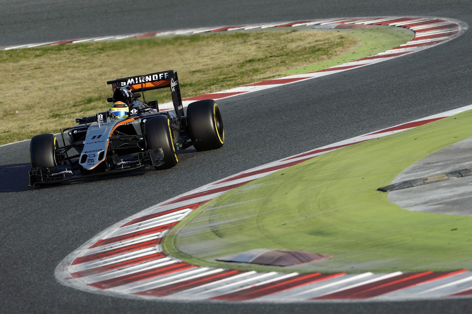 Az utolsó tesztnapon tönkrement a Force India