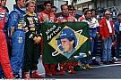 Egy felvétel, amit még talán nem is láttál Schumacherről: Sennának ajánlotta az első címét