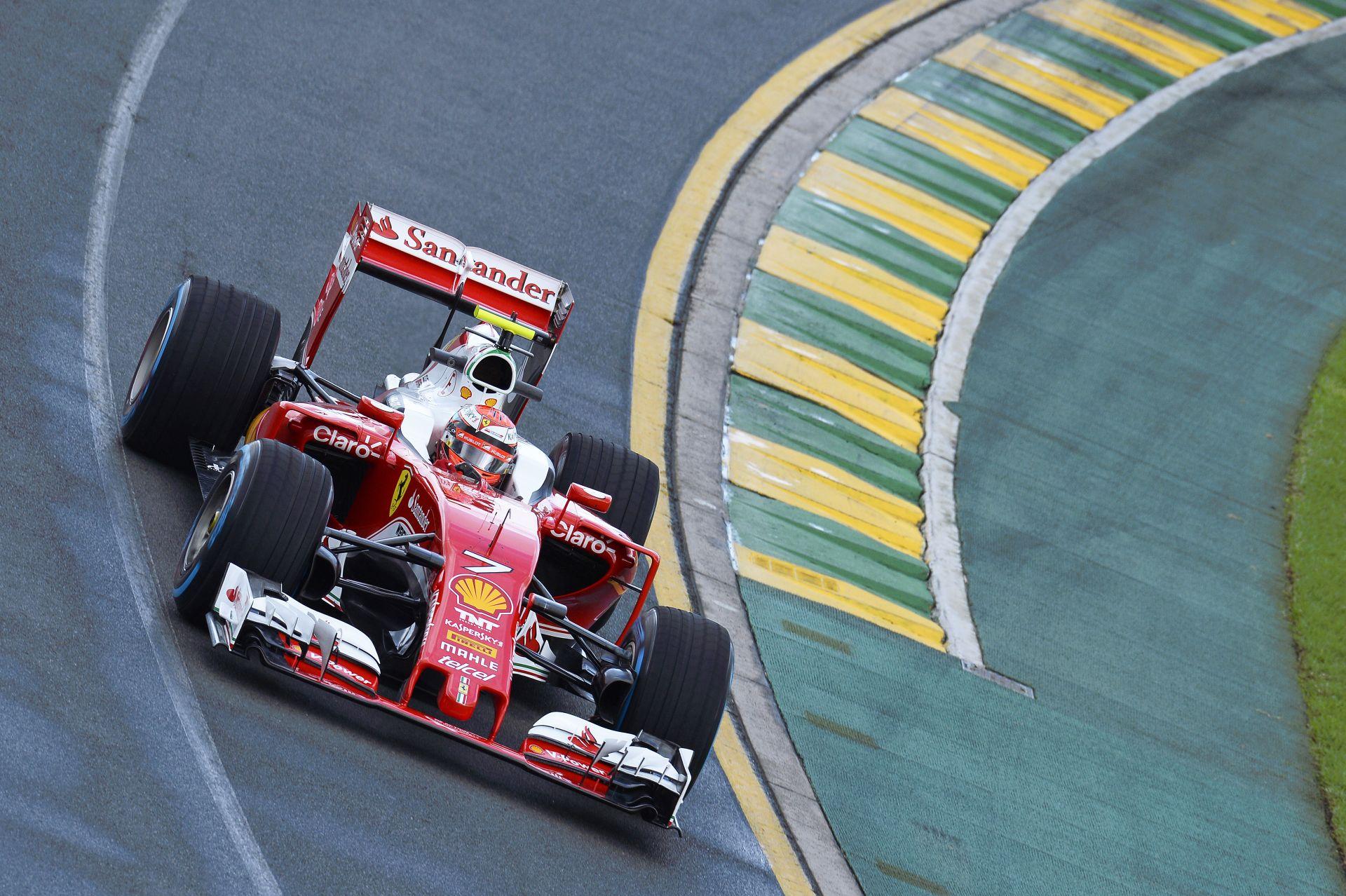 Räikkönen összességében elégedett az ausztrál időmérőn elért 4. helyével!