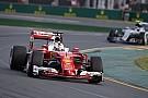 Vettel belsőkamerás felvétele, ahogy megelőzi Hamiltont a Ferrarival Ausztráliában