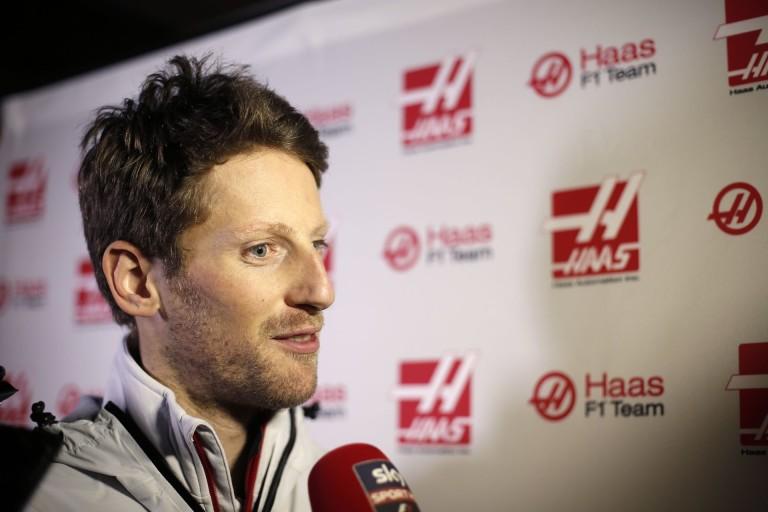 Grosjean egy szép nap kipróbálná a Nascart is, csak nem oválpályán...