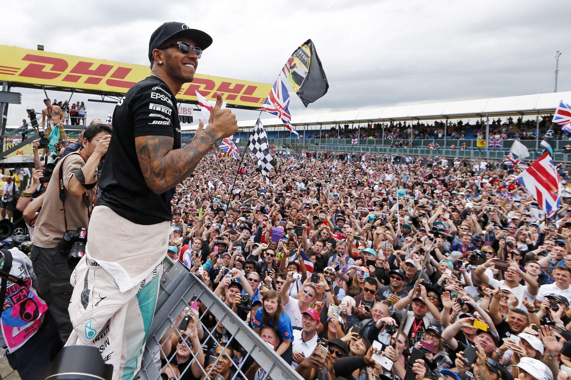 Az állóhelyek 80%-a már el is fogyott az idei F1-es Brit Nagydíjra