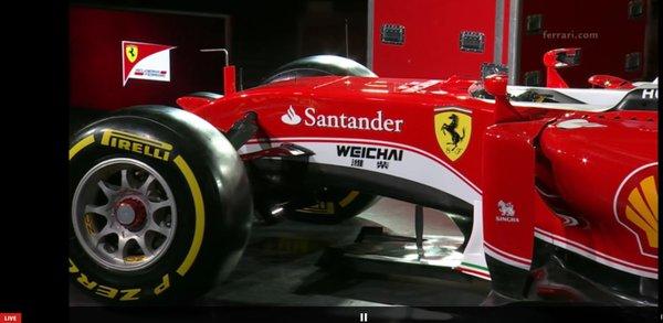 Magasan a léc az idei Ferrari, az SF16-H számára