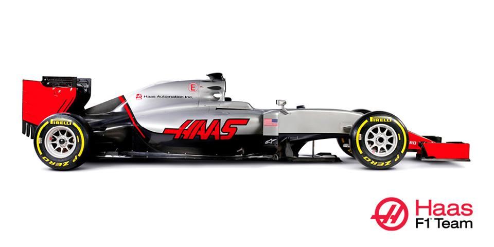 Videón a Haas VF-16: már pályára is vitték az első autójukat!
