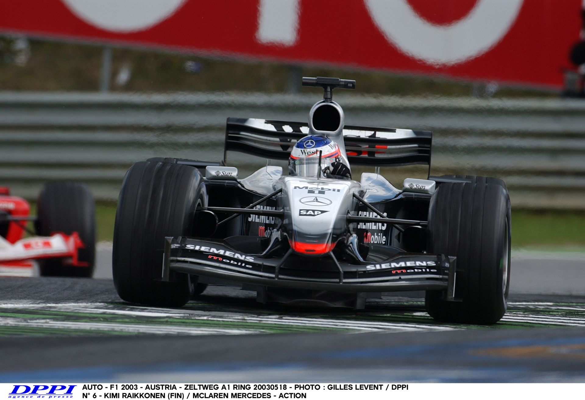 Raikkönen és a brutális tempó a McLarennel az A1-Ringen